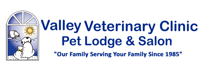 Logo for Valley Veterinary Clinic Pet Lodge & Salon