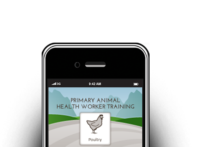 Logo for Primary Animal Health Worker Training – a Veterinarians Without Borders Project